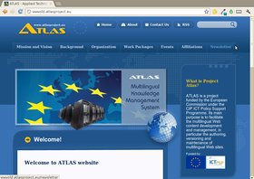 The ATLAS project is now officially running